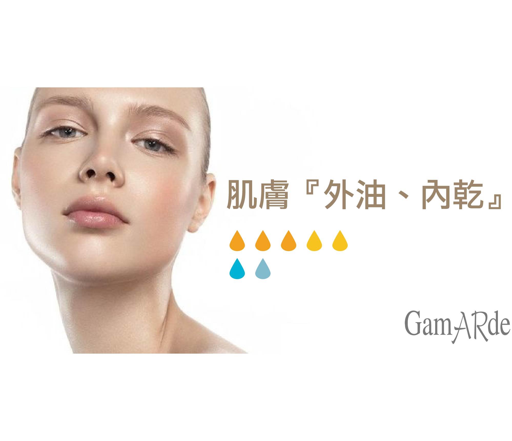 肌膚『外油、內乾』-GamARde有機保養品完美控油補水計畫